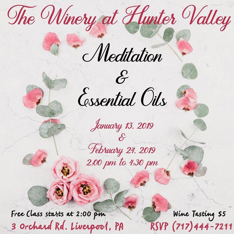 Make & Take Essential Oils/Meditation Class