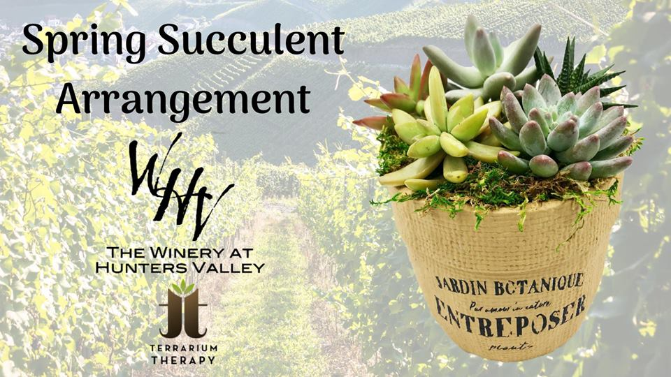 Spring Succulent Arrangement Workshop