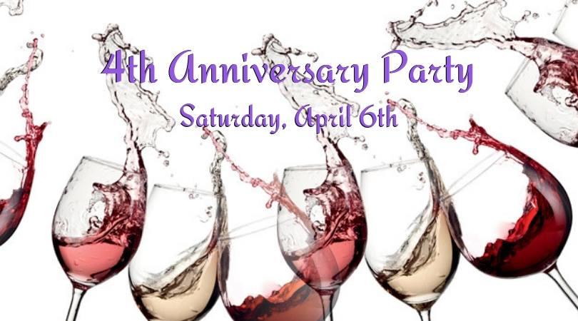 Customer Appreciation-Celebrate our 4th Anniversary!