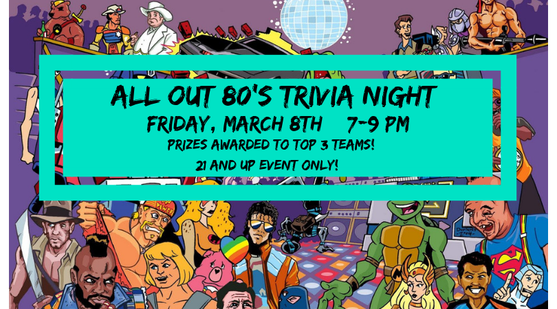 All Out 80's Trivia