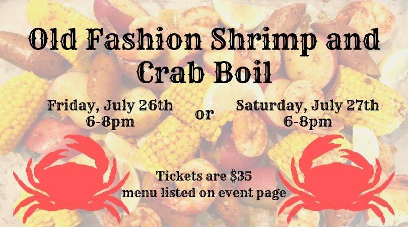 Old Fashion Shrimp & Crab Boil!