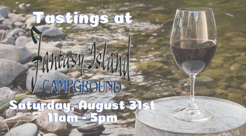 Tastings at Fantasy Island Campground