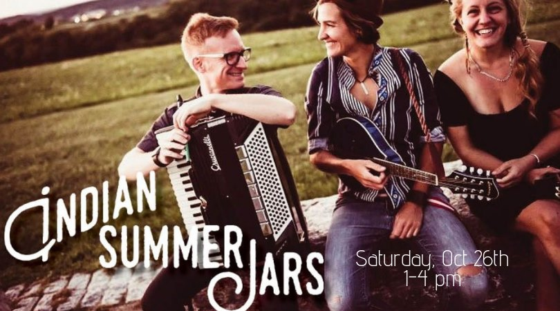 Live Music with Indian Summer Jars