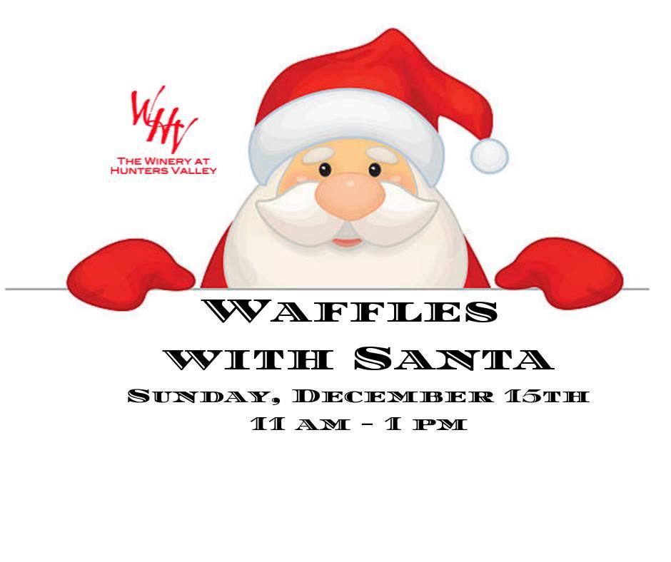 Waffles with Santa