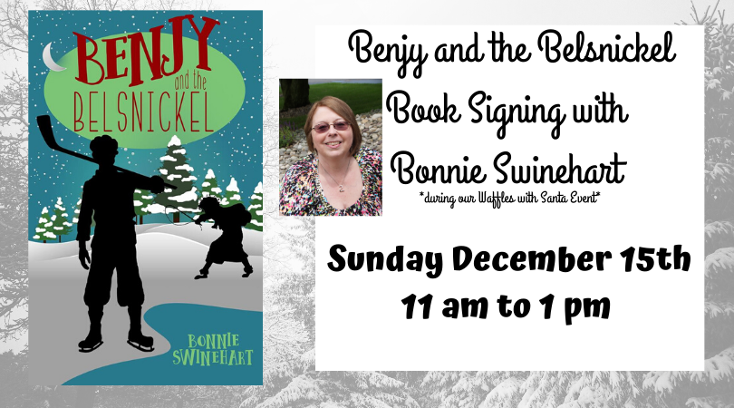 Benjy and the Belsnickel Book Signing