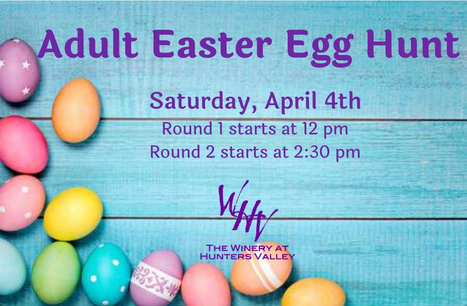 5th Annual Adult Egg Hunt- Postponed