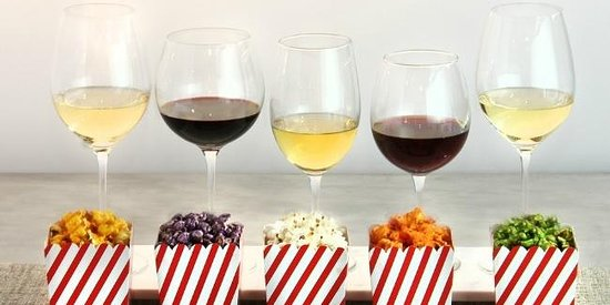 Wine & Gourmet Popcorn Pairing SOLD OUT!