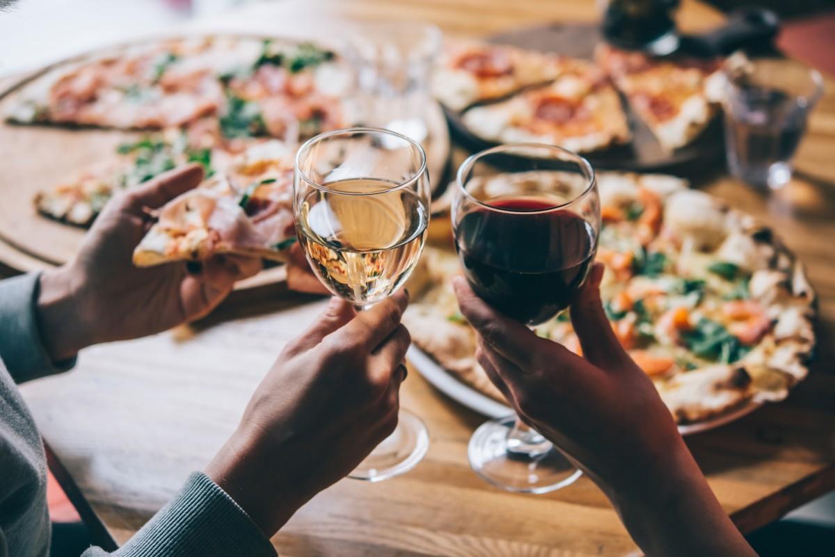 Wine & Pizza Night