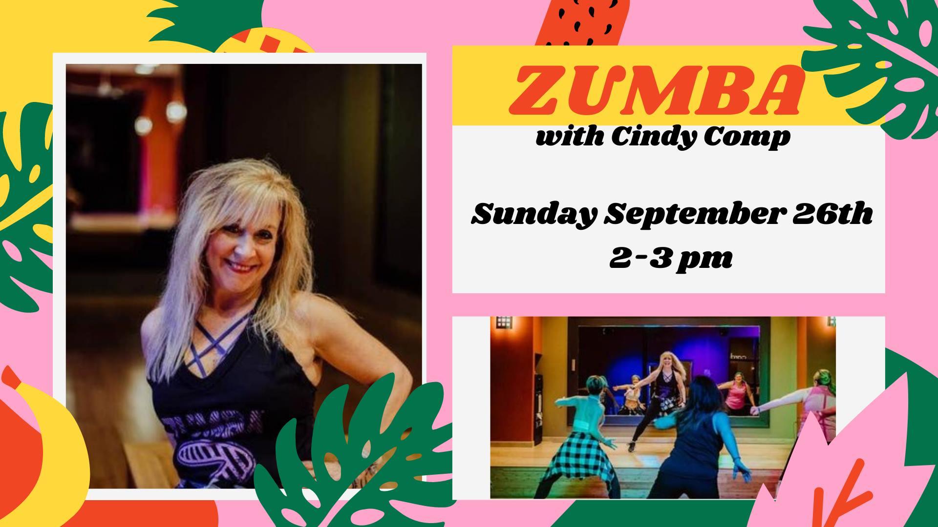 ZUMBA! w/ Cindy Comp